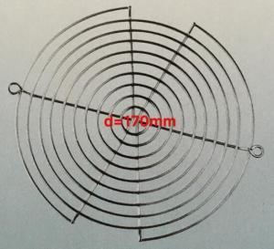 *d=170mm* Fan Finger Guards/Stainless steel net/Copper plating net/Nickel plating net/Chrome plated net/Steel fan guards
