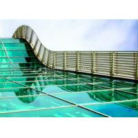 China Skylight 5mm two layers laminated toughened glass , Processed Solid Bent Laminated Glass wholesale