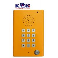 Wholesale Loudspeaking Clean Public Telephones with Led Indicator , Highway Call Box from china suppliers