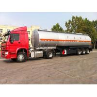 Wholesale Oil tanker trailer for petrol transport 45000 liters fuel tanker trailer from china suppliers