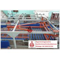 China Rolling / Moulding / Laminating Magnesium Oxide Board Production Line High Speed on sale