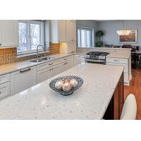 Waterproof Eased Edges Stone Kitchen Countertops With Cabinet