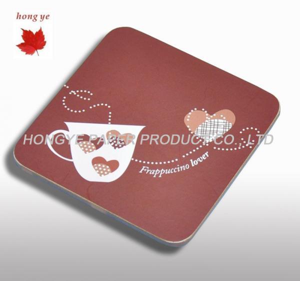Round recycled paper cardboard coaster uv coating beer mat of item 98875977 - Cardboard beer coasters ...