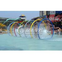 Children Water Pool Toys Colorful Rainning Gallery for Spray Park Equipment