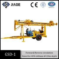 China Gsd-1 Mechanical Trailer Mounted Water Well Drilling Equipment wholesale