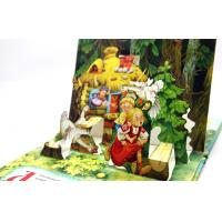 Wholesale Case Bound Colorful Story Pop Up Children Book Printing With Diecut Book from china suppliers
