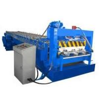 Wholesale 380V 50Hz sheet metal Steel Tile Trapezoidal Decking Forming Machine from china suppliers