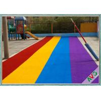 Outdoor sports flooring playground synthetic grass for Outdoor safety flooring