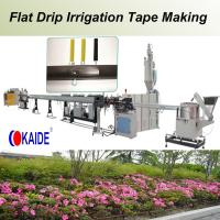 China Flat Drip Irrigation Pipe Production Line 180m/min wholesale