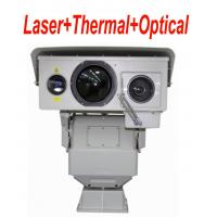 6.5 ° × 4.8 ° Long Range Infrared Thermal Camera PTZ With Multi Sensor 50mK
