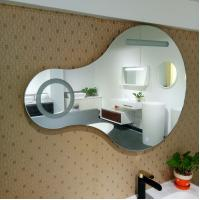 Wholesale Fashionable Lighted Bathroom Wall Mirror Light Up Bathroom Mirror from china suppliers