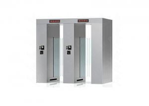Wholesale Full Height Speed Gates Sliding Turnstile Optical, RFID Access Control Turnstyles from china suppliers