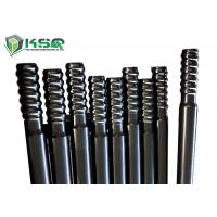 Wholesale Extension Top Hammer Threaded Drill Rod  For Mining / Tunnel Drilling Carbon Steel from china suppliers