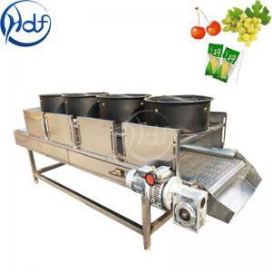 China Continuous Vegetable Fruit Dryer Machine , Food Dehydrator Machine Conveyor Belt Width 600mm on sale