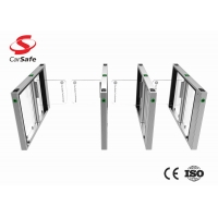 Wholesale Stainless steel swing gate RFID/Facial/QR Reader Turnstile Gate with CE certification and low price from china suppliers