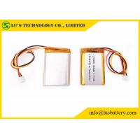 Wholesale LP103450 3.7V 1800mah Lithium Polymer Battery Rechargeable Low Temperature lithium ion battery PL103450 from china suppliers