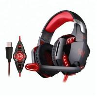 Wholesale EACH G2200 USB 7 dot 1 Surround Sound Vibration Game Gaming Headphone Computer from china suppliers