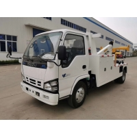 Wholesale ISUZU 5 Tons Light Wrecker Tow Truck For City Road Rescue with Manual Gearbox High Operation Efficiency from china suppliers