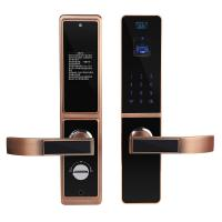 Wholesale Bilateral Optical Finger Vein Recognition Highly Secured Biometric Smart Door Lock from china suppliers