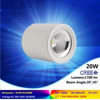 Wholesale high quality ceiling lamp 10W to 45W 2700-6500K CREE COB led downlight super bright light from china suppliers