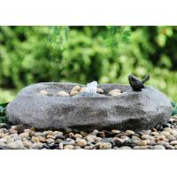 China Fiberglass / Resin Material Cast Stone Fountains For Garden Ornaments wholesale