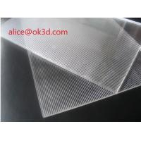 Wholesale Large format PS Lenticular Material 120x240 25 lpi 4mm lenticular plates materials with lenticular effects from china suppliers
