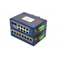 8 Port Unmanaged Fiber Ethernet Switch 100Mbps Wall Mounting Installation