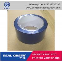 Wholesale Blue / Red Security Seal Tape , 25 Microns Tamper Evident Sealing Tape from china suppliers