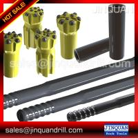 Drilling accessories T51 MF rod for I.R. ECM-690 hydraulic drill with carousel rod changer