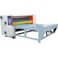 Wholesale Semiautomatic chain feeder rotary die cutting machine for corrugated carton board from china suppliers