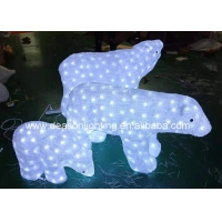 Wholesale led polar bears christmas lights from china suppliers