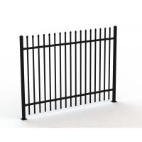 Used Wrought Iron Fence Panels/tubular Steel Fence
