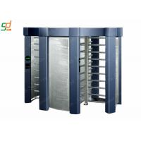 Wholesale Brushed Single Passage Rotor Turnstile Entrance / Controlled Access Gates from china suppliers