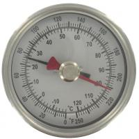 Wholesale Outdoor ABS industrial desktop Bimetal Temperature Sensor thermometer hygrometer from china suppliers