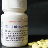 Wholesale high purity T3-liothyronine sodium T3 tablets/pills 25mg/piece white   good price skype:zara00738 from china suppliers