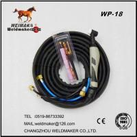 Wholesale New handle air cooled tig welding torch WP-18 from china suppliers