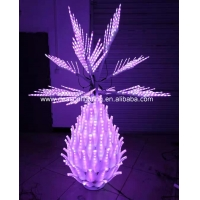 Wholesale Color Changing Outdoor Led Pineapple Tree from china suppliers