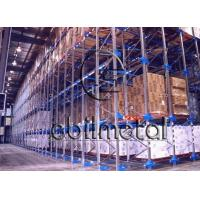Wholesale Heavy Duty Drive In Pallet Racking , Storage Warehouse Steel Drive In Racks Adjustable from china suppliers