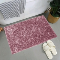 Wholesale OEKO-TEX Thick 17x24  Soft Fluffy Quick Drying Chenille Bath Rug from china suppliers