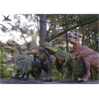 Wholesale Attractive Robotic Life Size Dinosaur Statues With Dinosaur Alive Roaring Sound from china suppliers