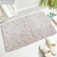 Wholesale BSCI Shaggy Water Uptake Microfiber Tafts Bath Mats With High Density from china suppliers