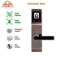 Wholesale Zinc Alloy Interior Face And Biometric Fingerprint Door Lock 8-12 Months Life from china suppliers