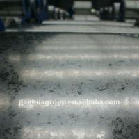 China Hot dip galv Chromated rolled galvanized sheet metal ASTM A653 - CS - B Grade on sale