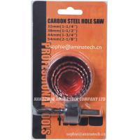 Quality HCS High Carbon Steel Hole Saw for Wood and Sheet Cutting (5-Piece) for sale