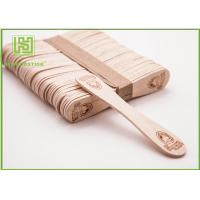 China Bulk Custom Printed Wooden Spoons , Ice Cream Taster Spoons With Different Size wholesale