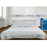 Wholesale Comfortable Hospital Bed Sheet Print World Polyester Cotton And 220TC 40S from china suppliers