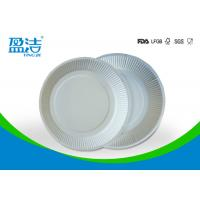 Wholesale White Color Eco Friendly Paper Plates 6 Inch For Birthday Celebrations from china suppliers