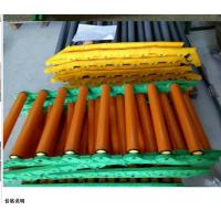 Wholesale No Power Pvc Adjustable Roller Conveyor Customized Size For Transport Goods from china suppliers
