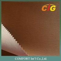 Wholesale Printing Press Based PU Emboss Leather for Book / Notebook Binding and Folders from china suppliers