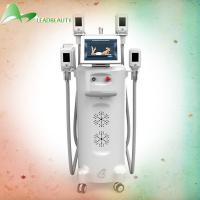 2016 Comfortable, safe and fast weight loss 4 handles cryolipolysis slimming machine with